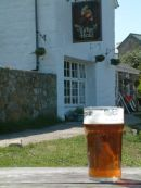 A pint at the Turks Head, St Agnes, Isles of Scilly