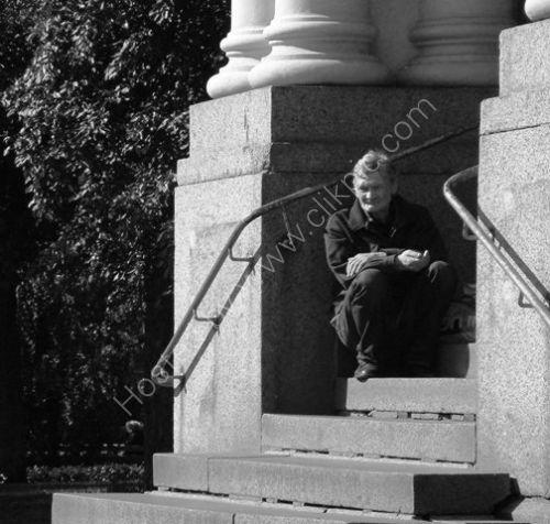 Beggar, Riga, Latvia