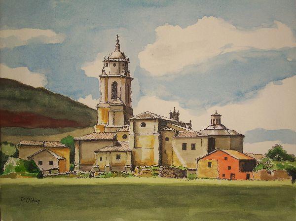 Church at Castrojeriz, Spain