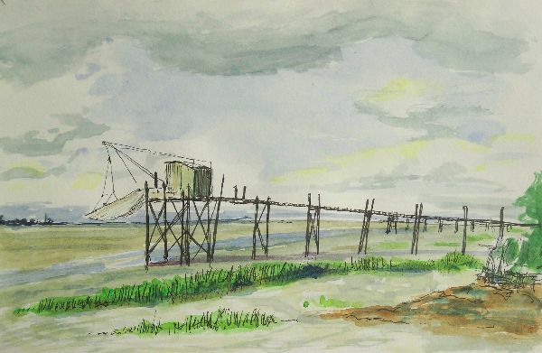 Saint-Bonnet-sur-Gironde                (this work for sale £30)