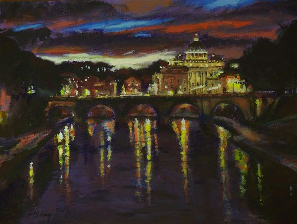 Reflections in the Tiber