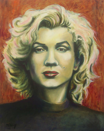 Another Kind of Marilyn    (this work for sale £125)