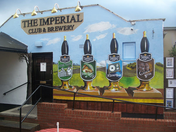 The Imperial Club Mural