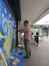 painting in Doncaster Sept 2017
