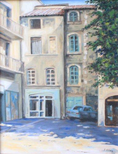 Back street, Avignon