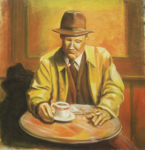 The Detective (this work for sale £90)