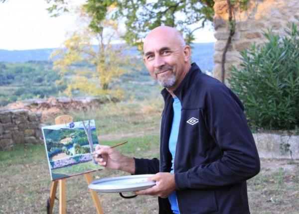 painting at Gressac 2011