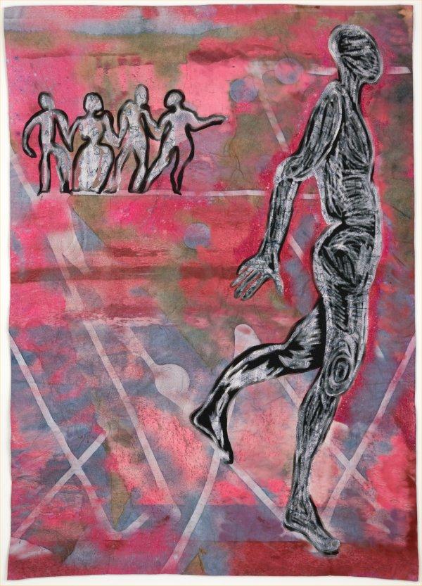 Distant dancers