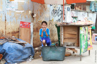 Little girl in Hô Chi Minh - Vietnam