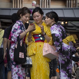 Mobile addiction #3 - Kyoto 2015