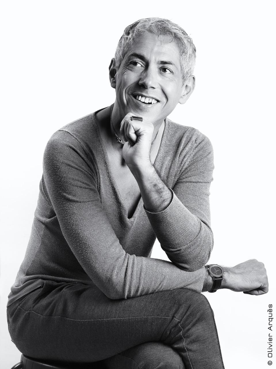 Olivier Jean - Soledad Créateur coiffeur - Portrait corporate © Olivier Arquès