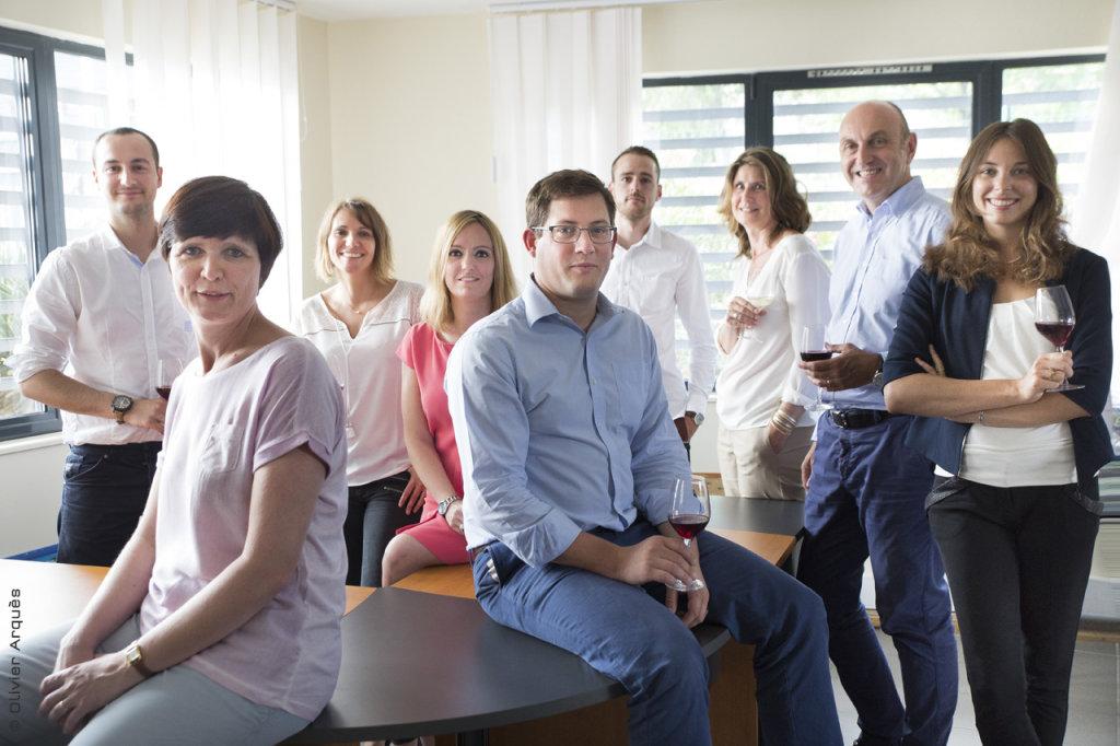 Terrisson Wines team - Nîmes - Portraits corporate en entreprise © Olivier Arquès