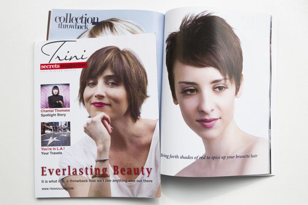 Trini Hair salon Magazine