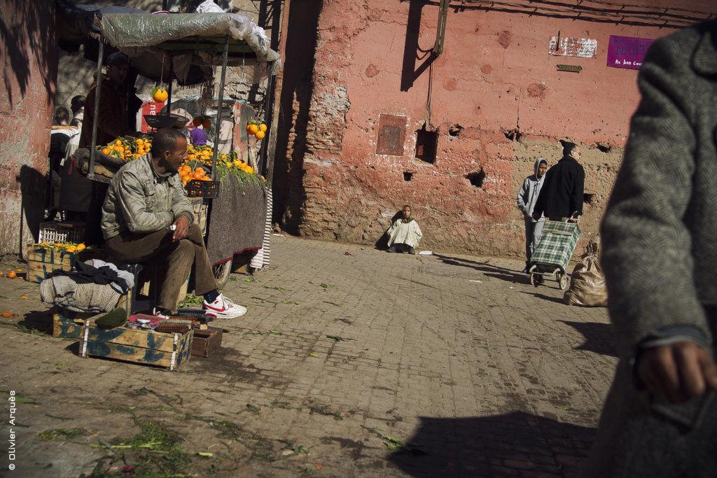 Market in Marrakech