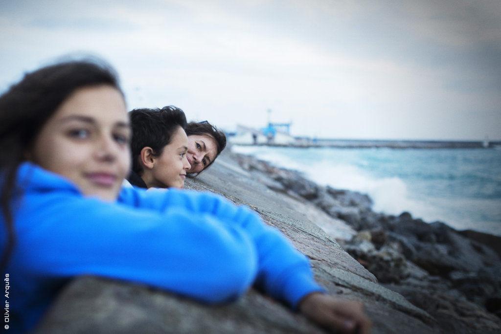 Alice, Elliot & Isa in Sète