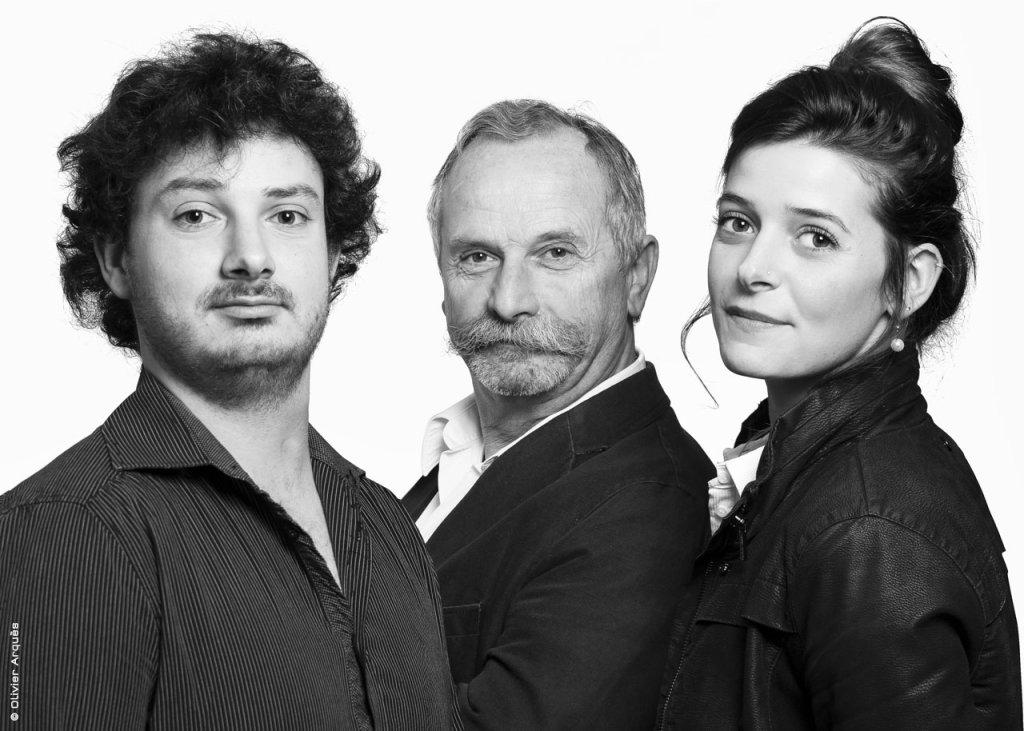 Bastien, Alain et Clémentine Baud - Domaine Viticole Baud Génération 9 - Jura