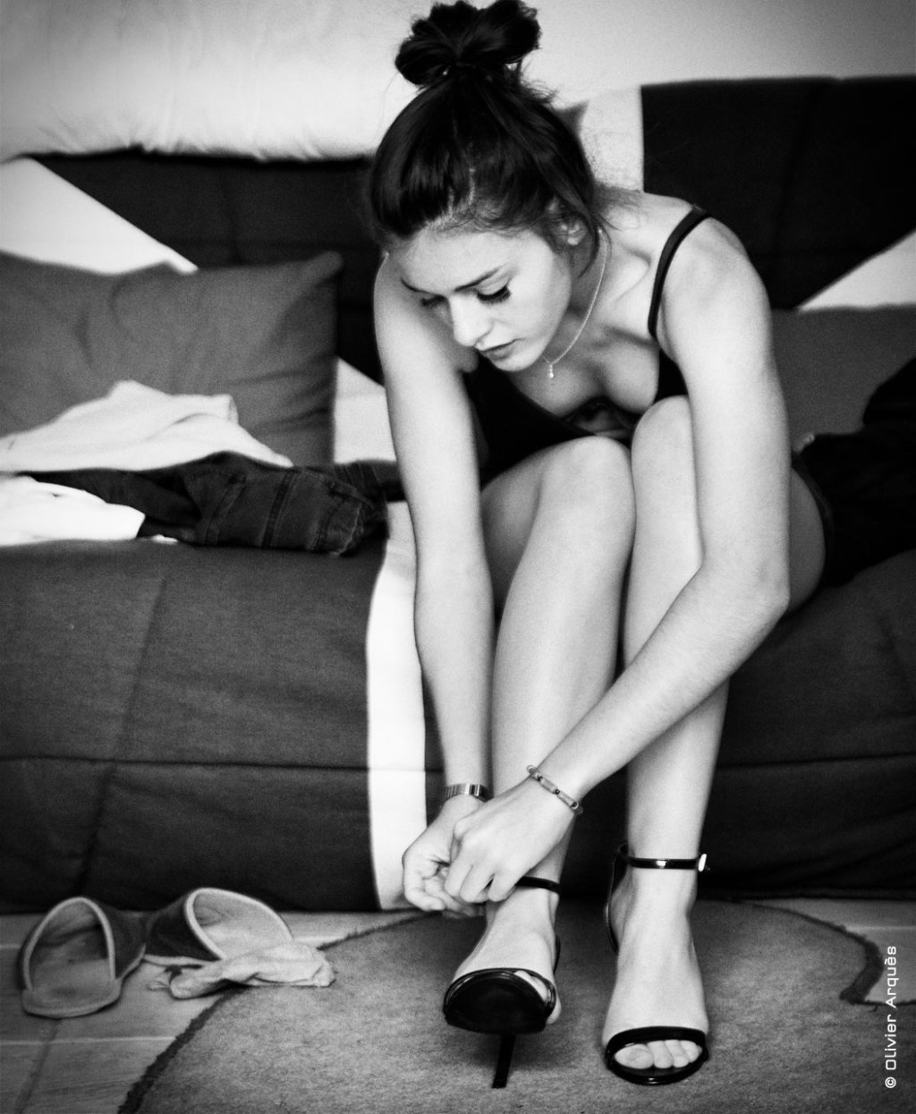 no slippers but heels