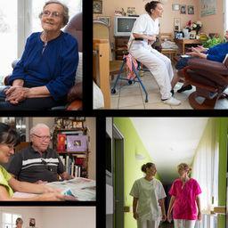Résidences de retraite Présence 30 -Reportages © Olivier Arquès