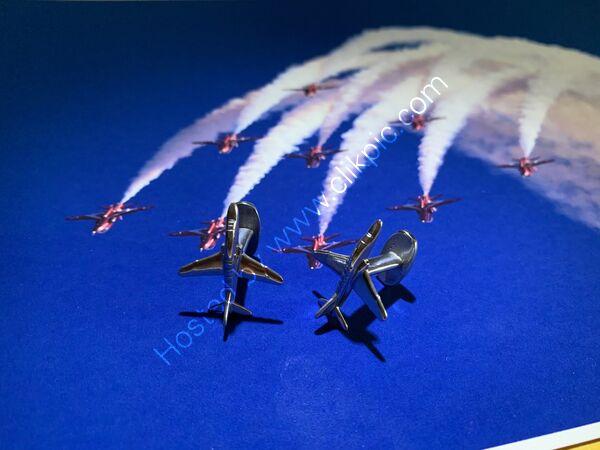 RAF Red Arrows cufflinks.