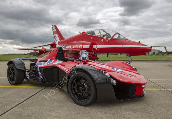 BAC Mono and Red Arrows Hawk