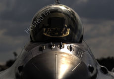 F-16 Falcon head-on