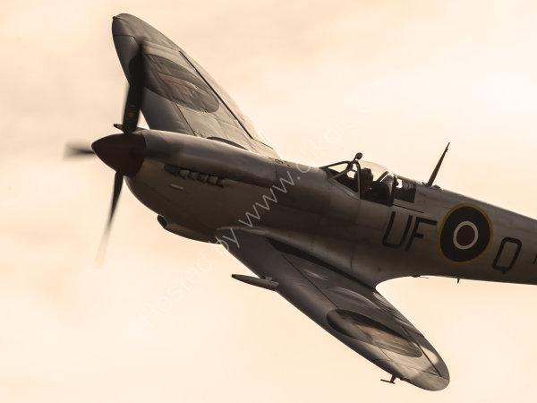 Spitfire MK356 up close
