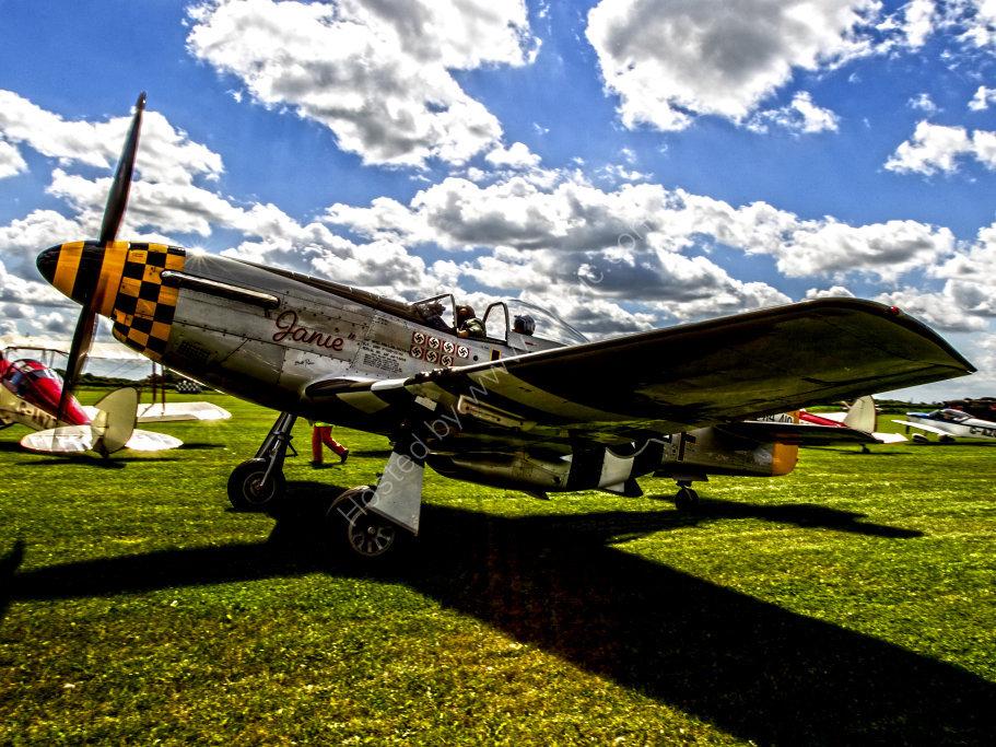 """P-51 Mustang """"Janie"""""""