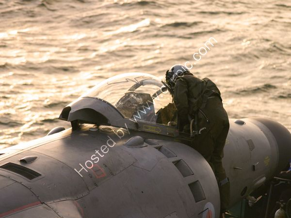 Sea Harrier Checks