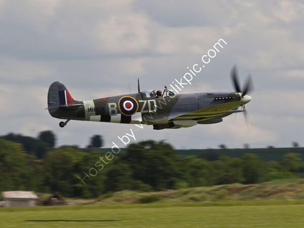 RAF Spitfire low