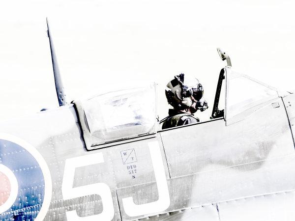 BBMF Spitfire Pilot