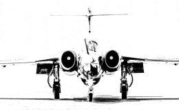 RAF Buccaneer - mono