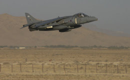 Low level Harrier