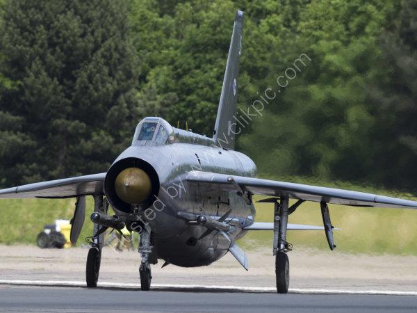 Lightning on the runway.