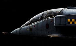 RAF 54(R) Squadron Jaguar.