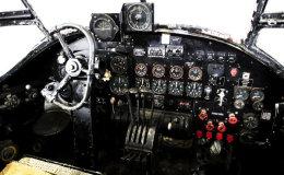 RAF Lancaster cockpit