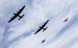 Lancasters and Spitfires