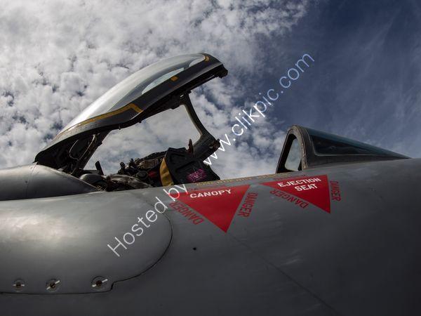 RAF Lightning canopy