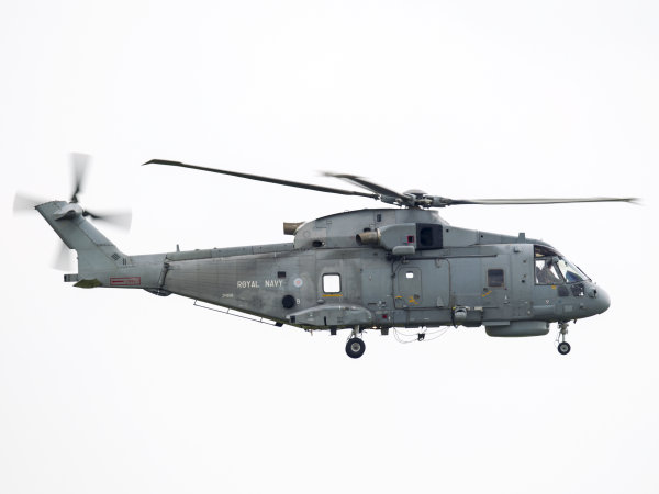Royal Navy Merlin ZH858