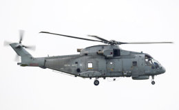 Royal Navy Merlin ZH858