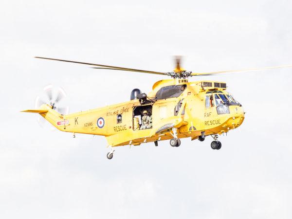 RAF Seaking XZ595