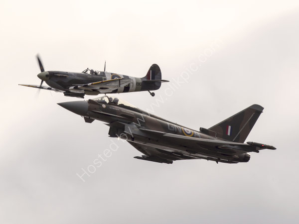 Spitfire and Typhoon