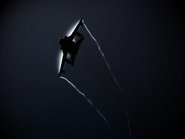 RAF Tornado spluffing