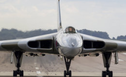 RAF Waddington arrival
