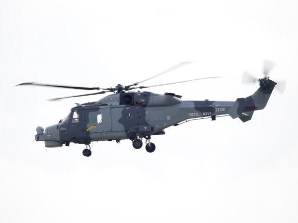 Royal Navy Wildcat ZZ381