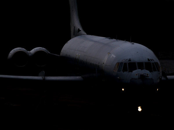 VC-10 ZD241 taxies in