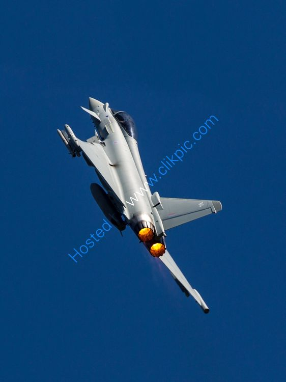 Typhoone ZK344 climbing skywards.