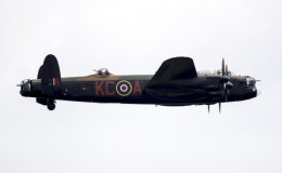BBMF Lancaster PA474 sideview