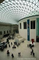 Inside of the British Museum