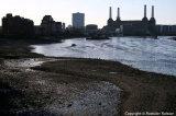 Low tide at Nine Elms
