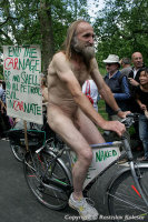 World Naked Bike Ride Against Car Culture